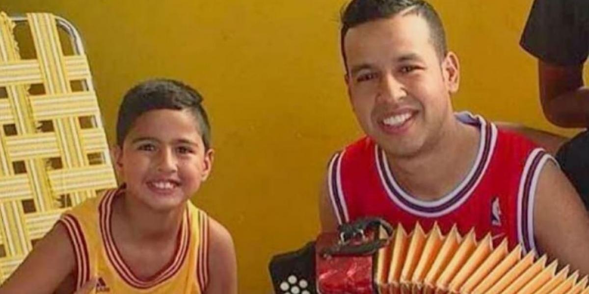 Martín Jr y Martin Elías.
