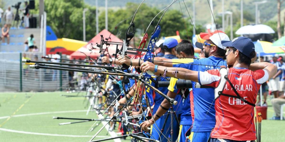 En arco compuesto femenino y masculino, la final será entre cuatro colombianos.