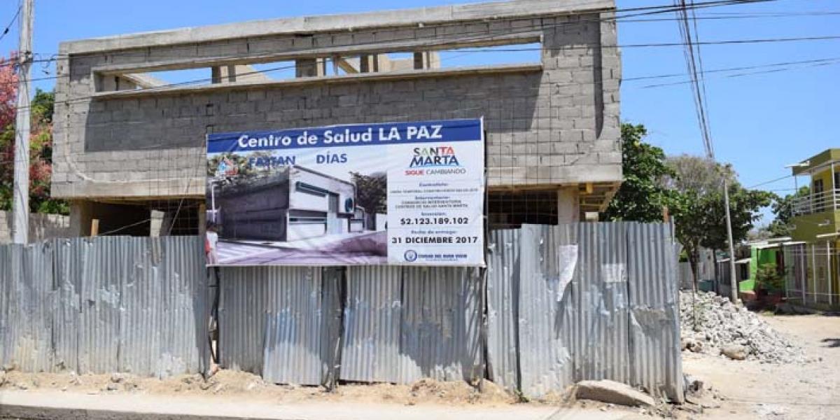 Imagen de referencia - centro de salud de La Paz.
