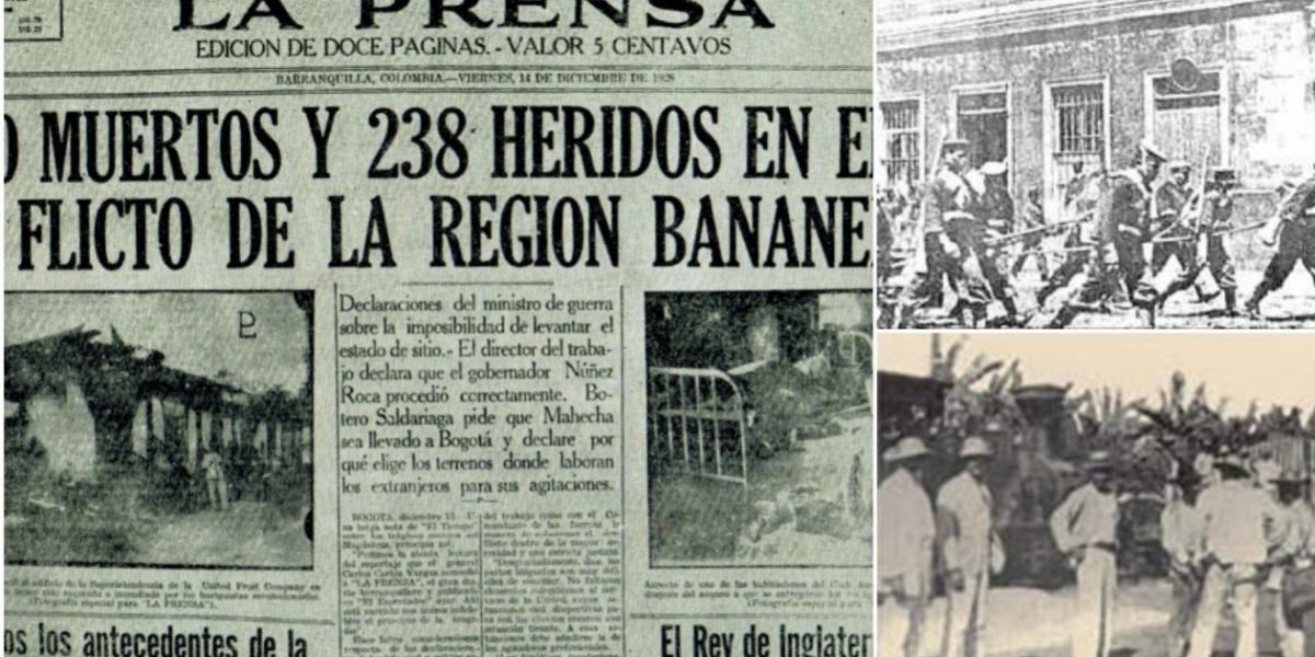 Así registró un diario de la época la masacre.