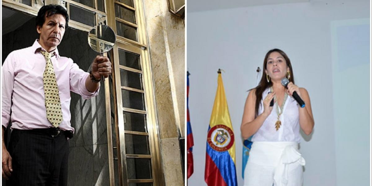 Pablo Bustos y Ana María Muelle.