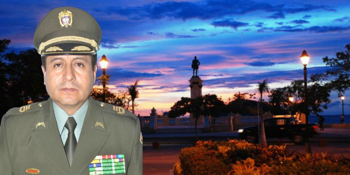 Resultado de imagen para Brigadier General de la Policìa, Freddy Alberto Tibaduiza Niño