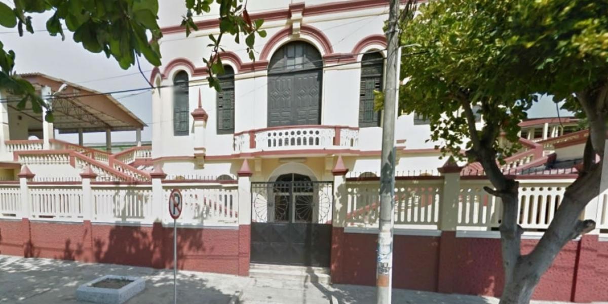 El asilo San Antonio.