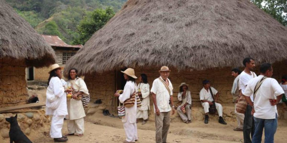 Indígenas koguis de la Sierra Nevada de Santa Marta