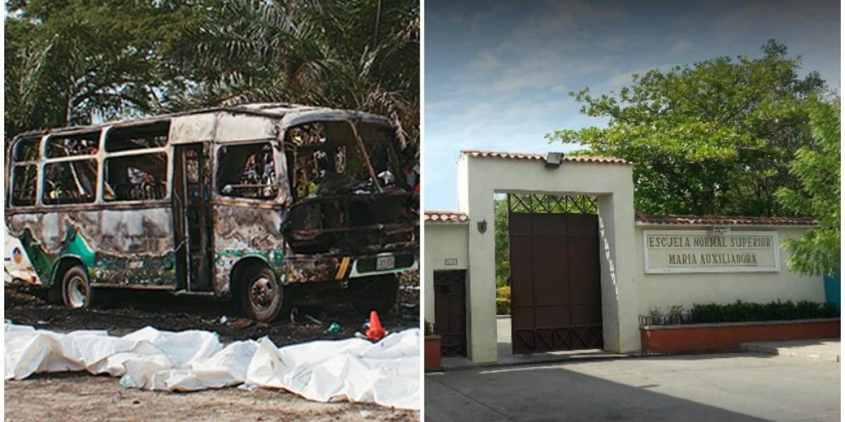 En un paseo de un colegio público en Santa Marta, pudo haberse presentado la misma tragedia que en Fundación.