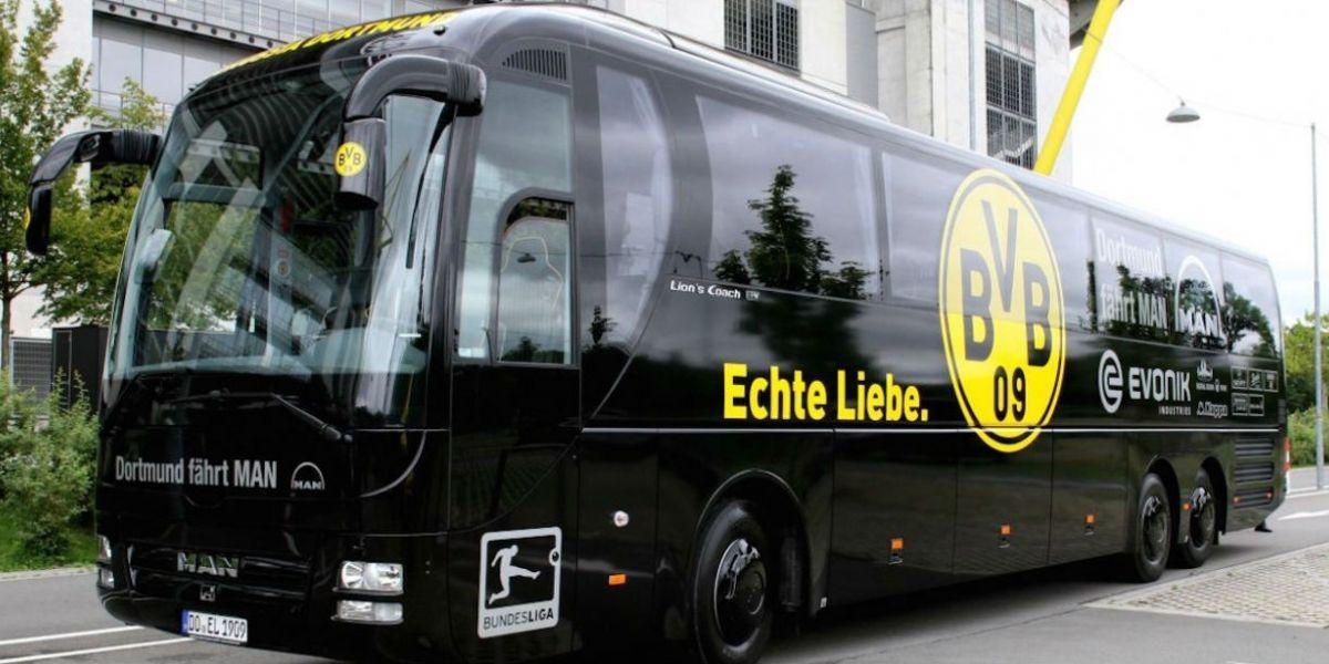Autobus del Borussia.