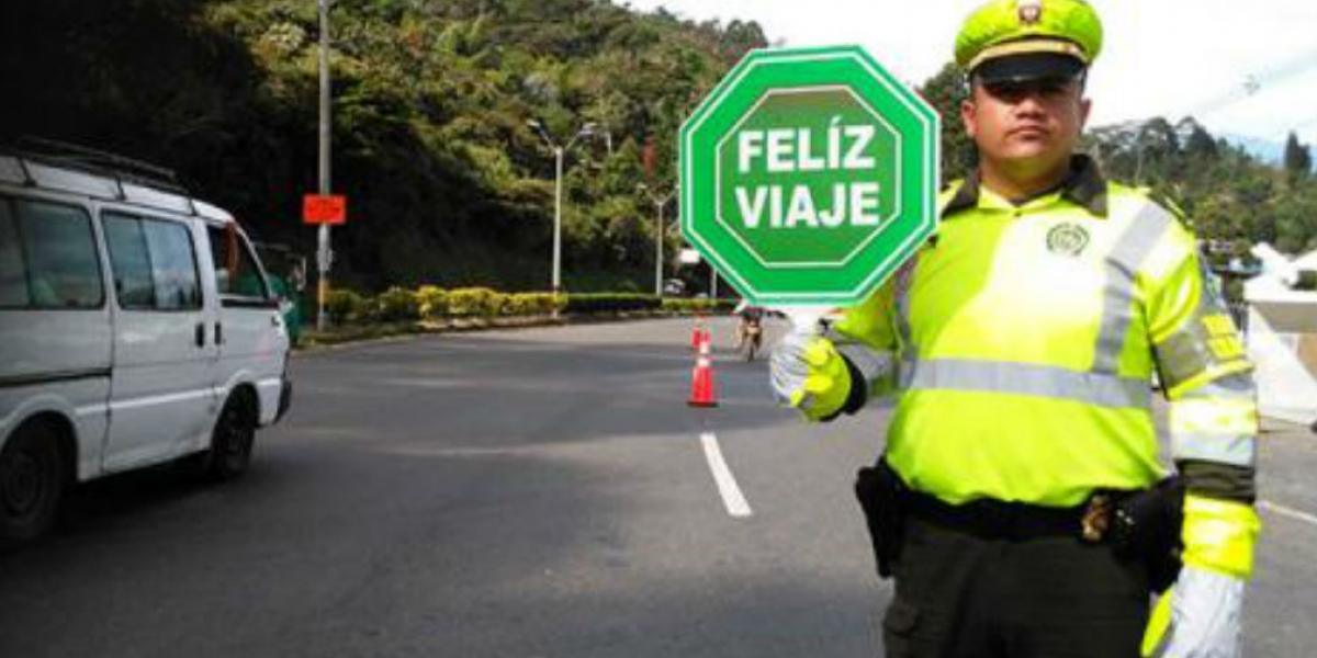 Policía de Transito realizó vigilancia durante la Semana Santa.
