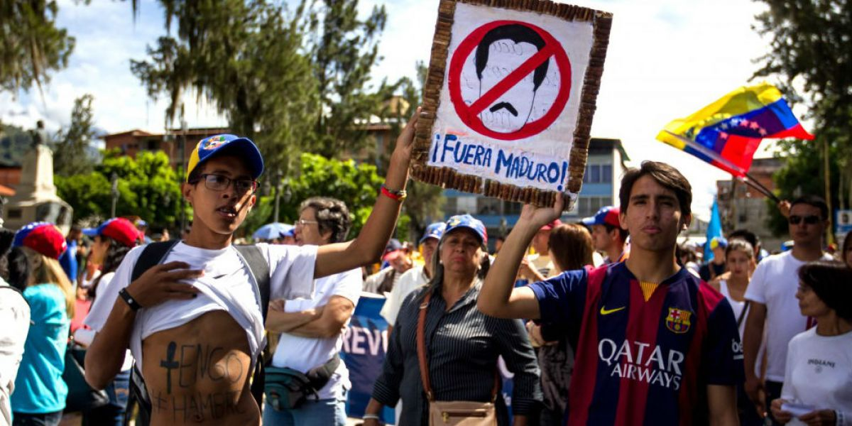 Las marchas durante las últimas semanas ha dejado 22 muertos.