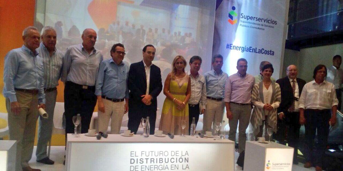 Aspecto del foro de la Superintendencia de Servicios Públicos en Barranquilla.
