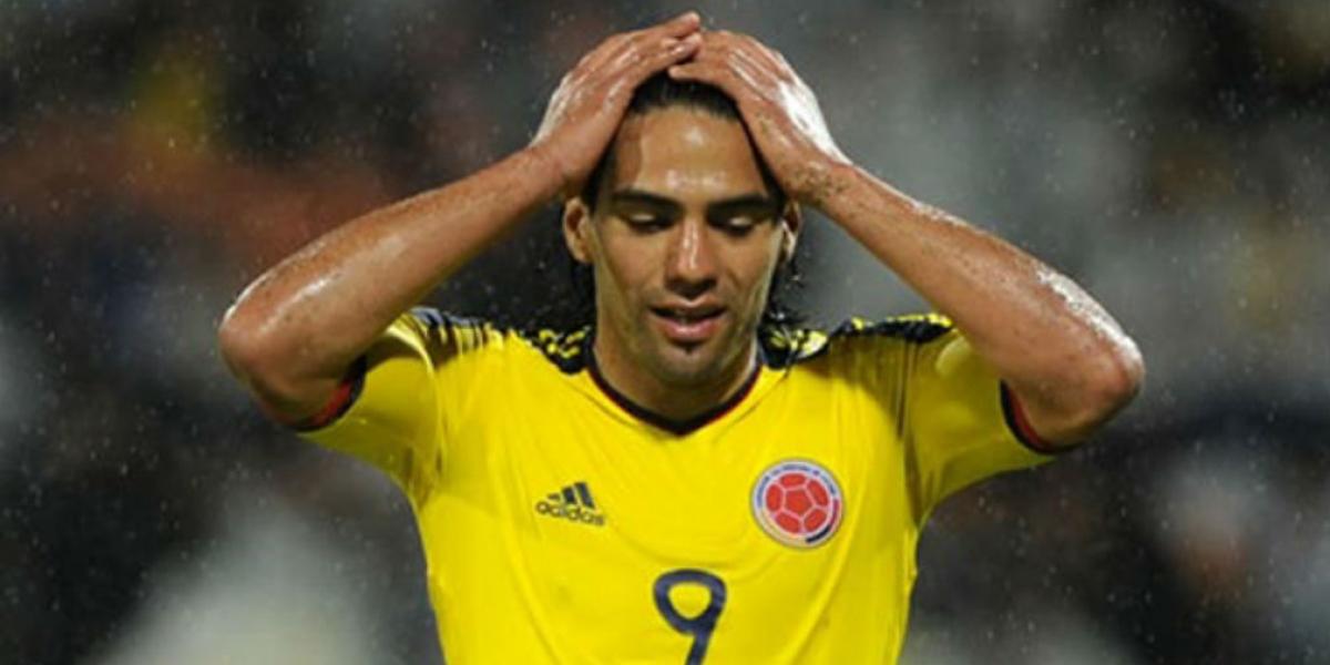 Radamel Falcao García, jugador colombiano.