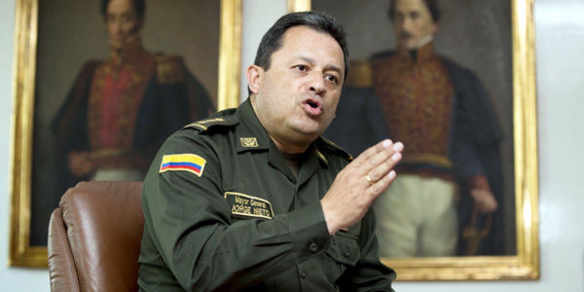 eneral de la Policía Nacional, Jorge Hernando Nieto.