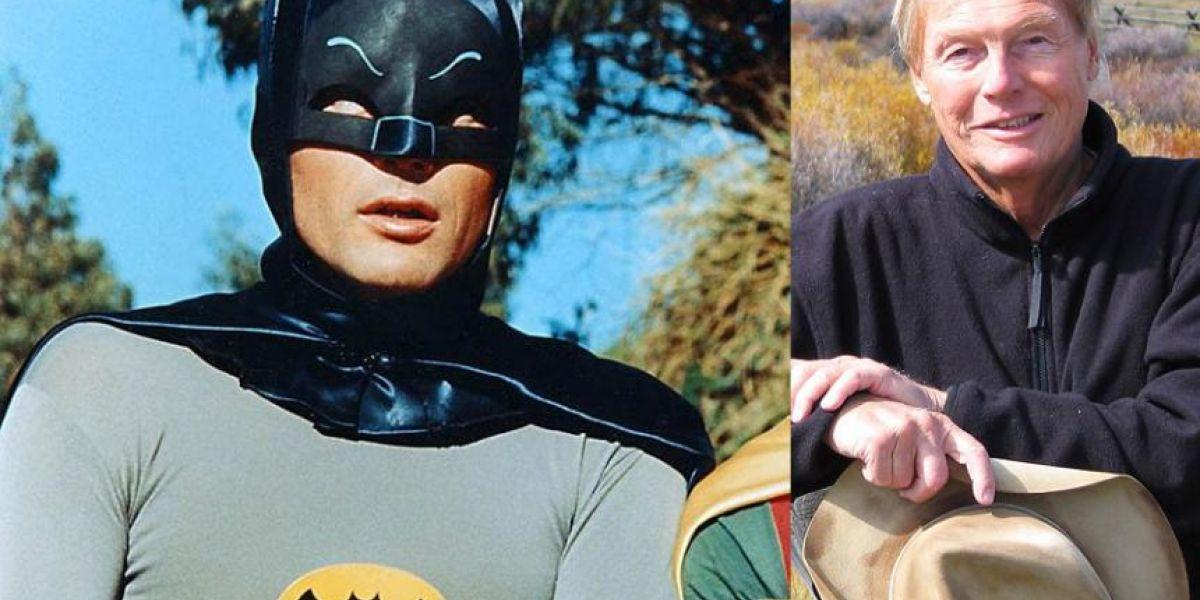 Adam West interpretó a Batman en 1960.
