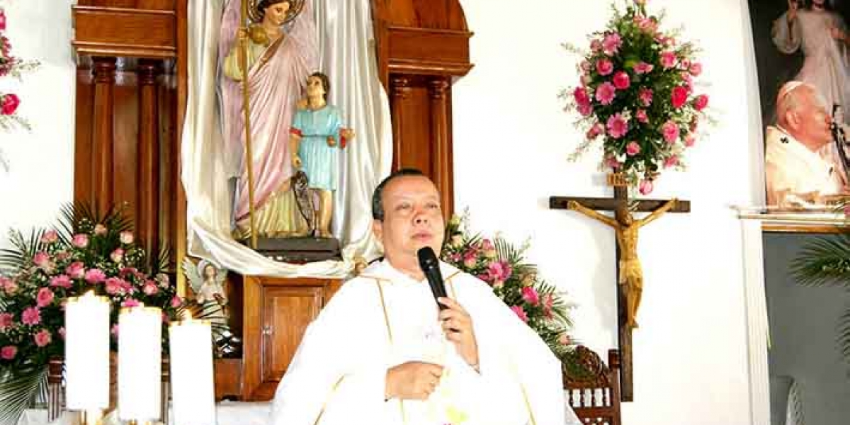 El padre Wilman Fernández, un hombre que le sirvió a Dios por más de 28 años.