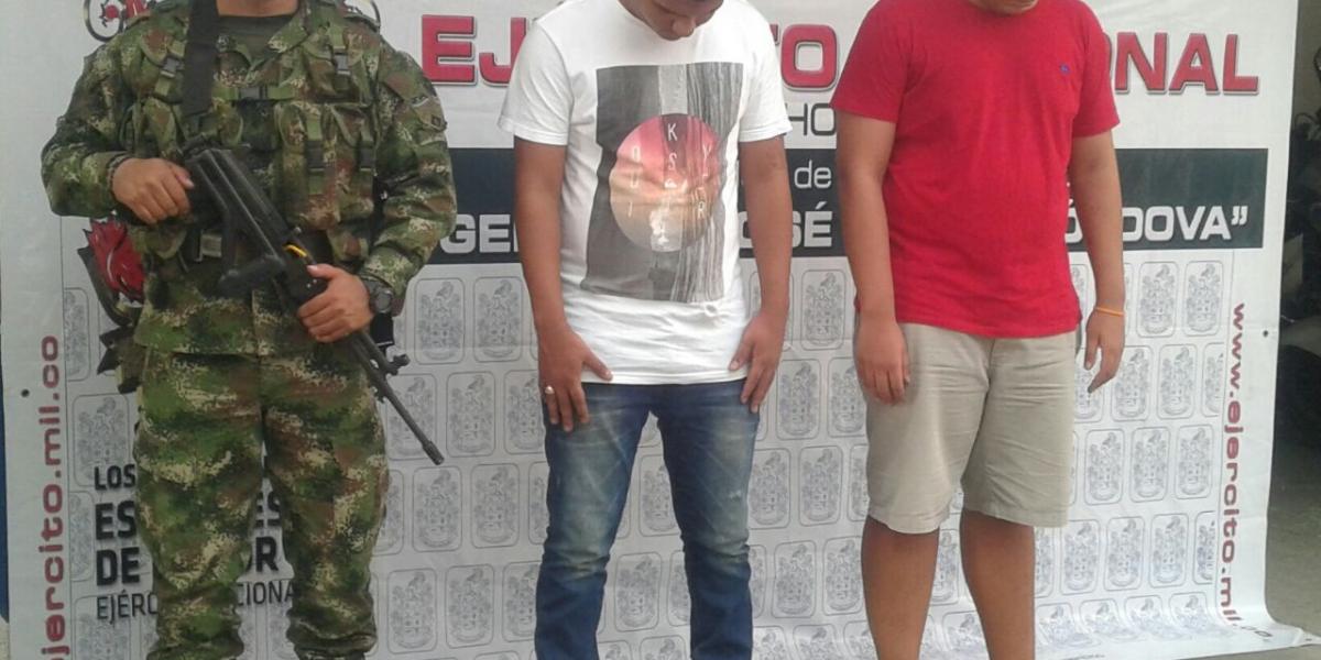 Los capturados fueron remitidos a la Fiscalía de Santa Marta para su judicialización.