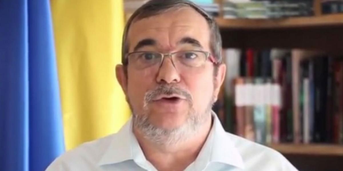 """El jefe máximo de las FARC, Rodrigo Londoño Echeverri, alias """"Timochenko"""""""