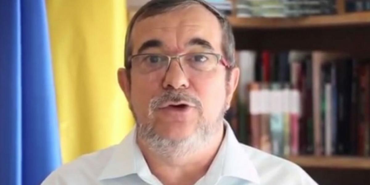 Rodrigo Londoño, máximo jefe guerrillero conocido como Timochenko.