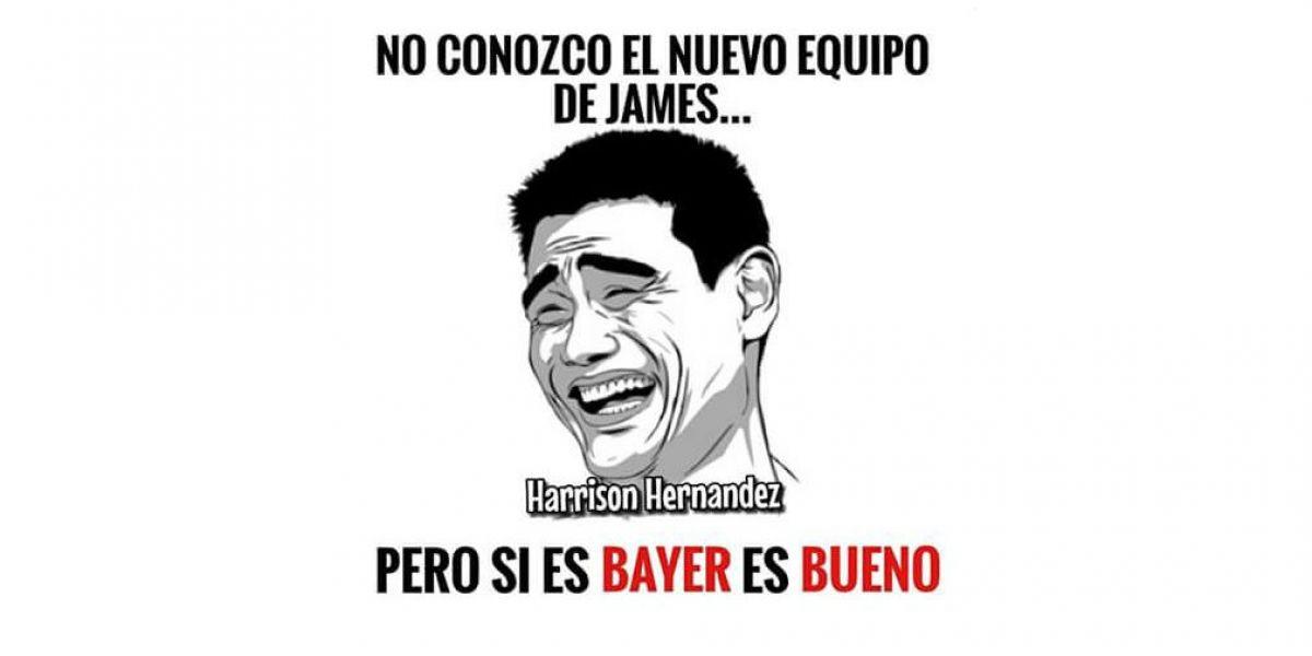 Los memes sobre el traslado de James Rodríguez coparon las redes sociales este martes.