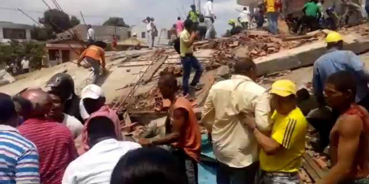 Las medidas se toman luego de la emergencia con el derrumbe del edificio Portales de Blas de Lezo 2.