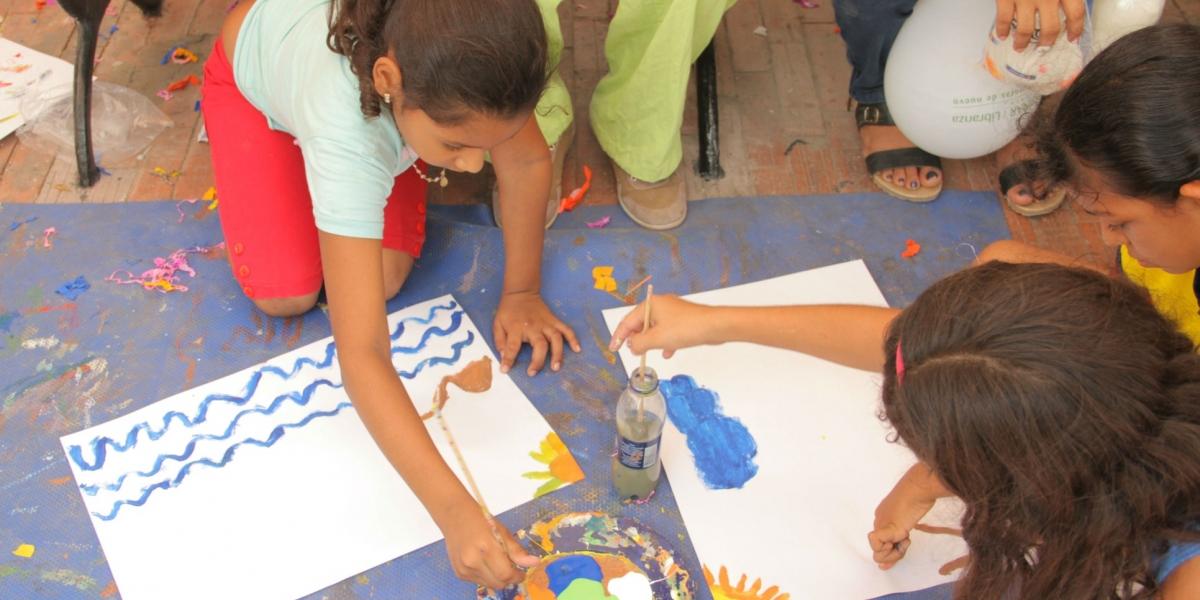 Para la edición 57 de la Fiesta del Mar el evento de los Niños Pinta su Mar se descentraliza y tendrán un día en el Barrios Cristo Rey.