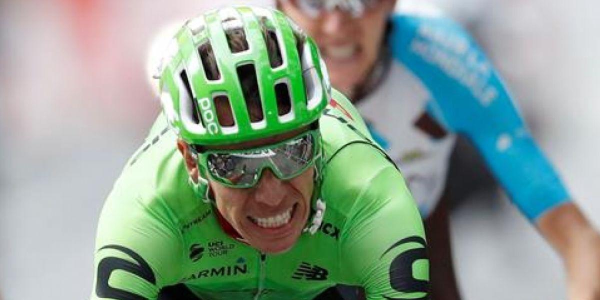 Rigoberto Urán recuperó la 4 posición en la clasificación general.