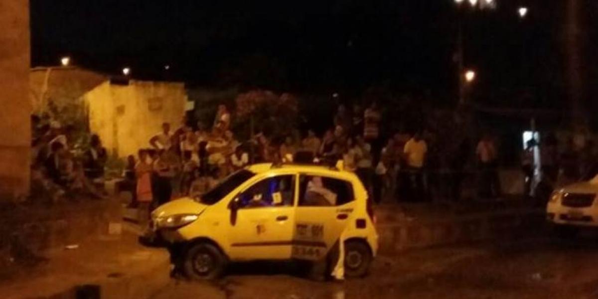 Policía de Santa Marta asegura que la muerte del taxista no tuvo nada que ver con su labor.