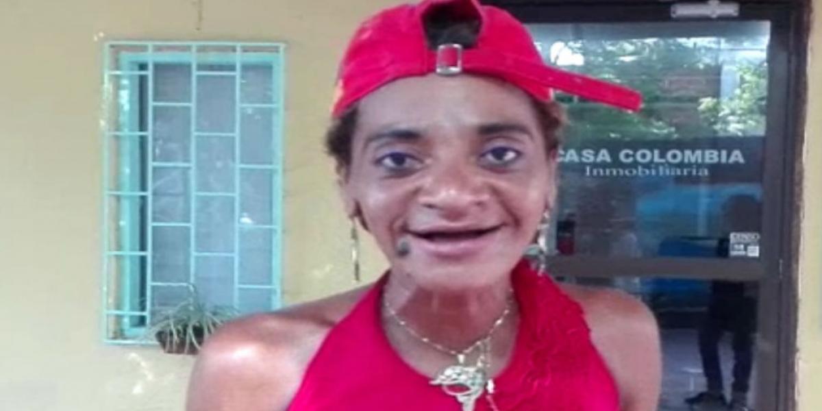 'La Shaqui', 'Shaqui', la mujer que enamora a los hombres en el Centro Histórico de Santa Marta