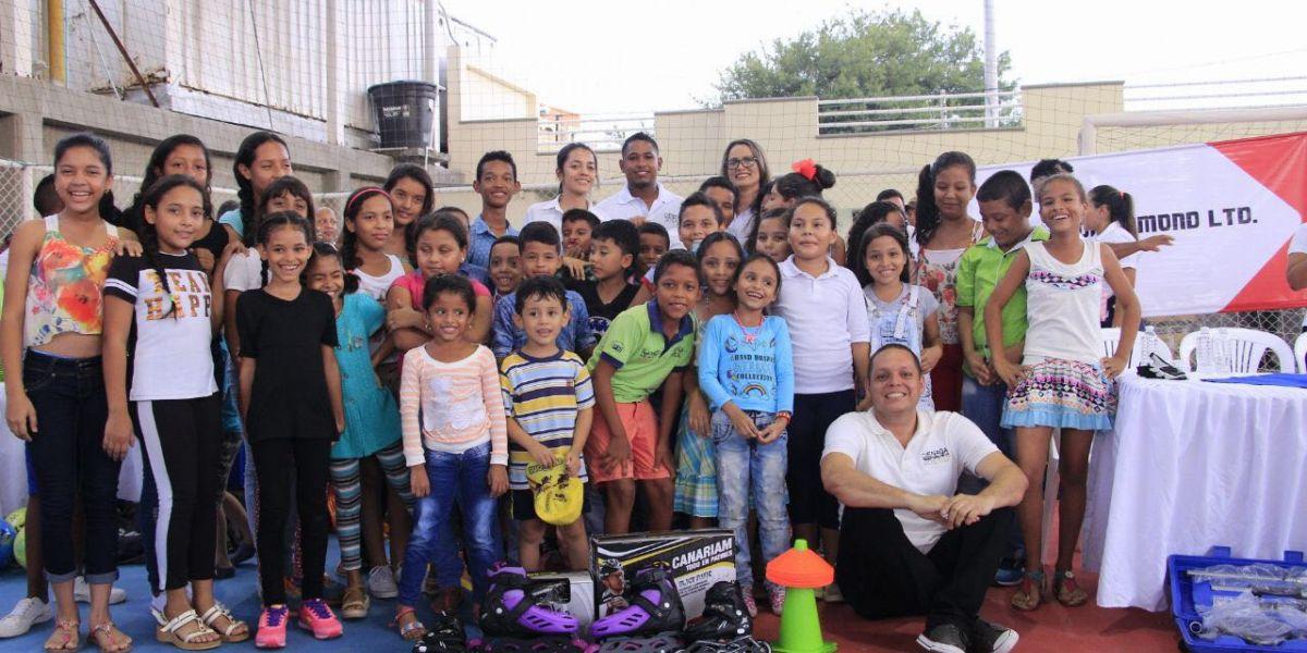 El alcalde, Edgardo 'Nene' Pérez fue el encargado de entregar la dotación.