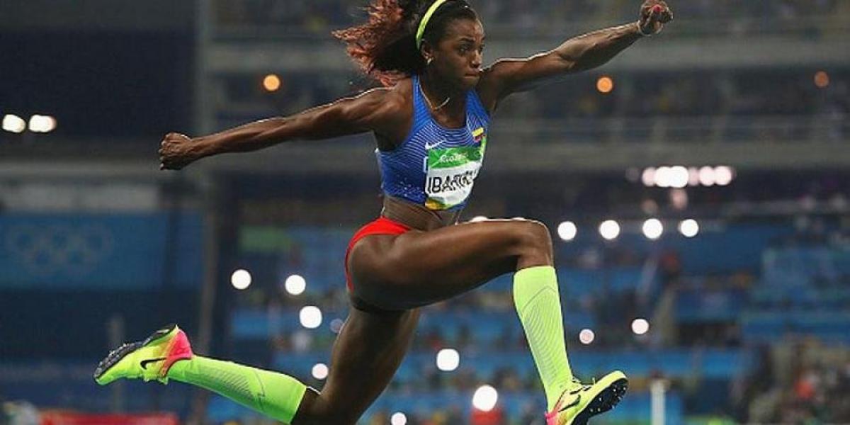 Caterine Ibargüen clasificó directamente a la final del Salto Triple del Mundial de Atletismo