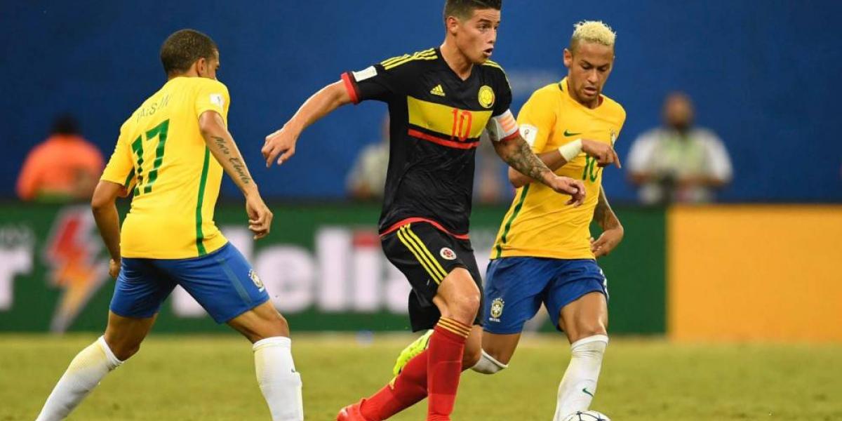 Imagen ilustrativa- Colombia contra Brasil