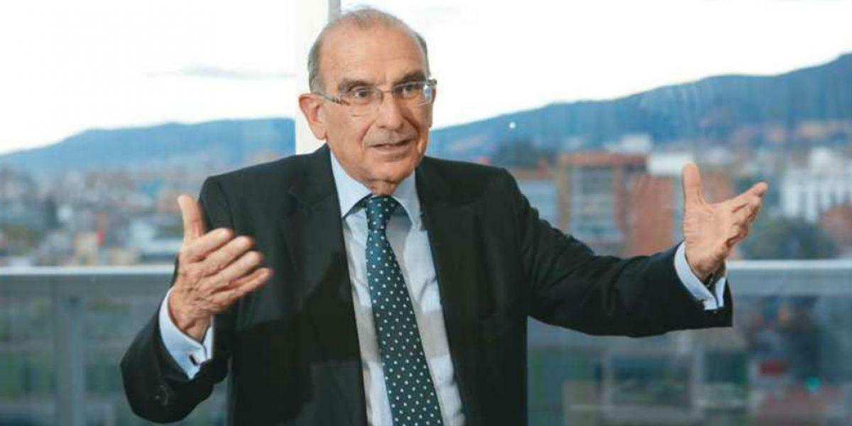 Humberto de La Calle, candidato presidencial.