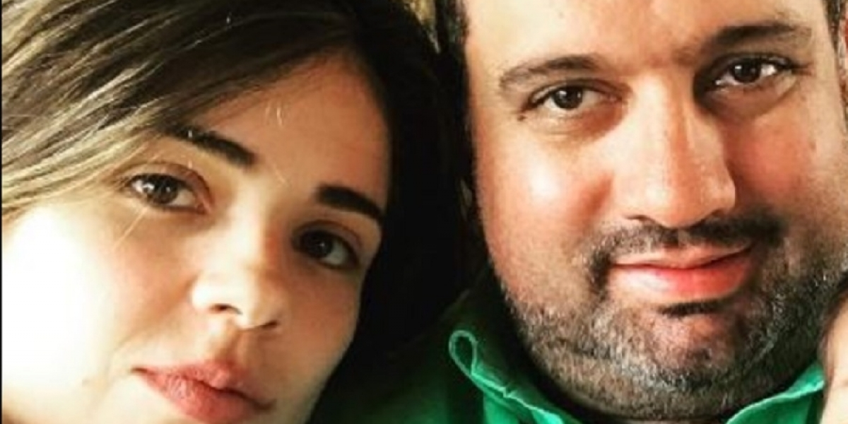 Verónica Pinto y Andrés Villamizar.