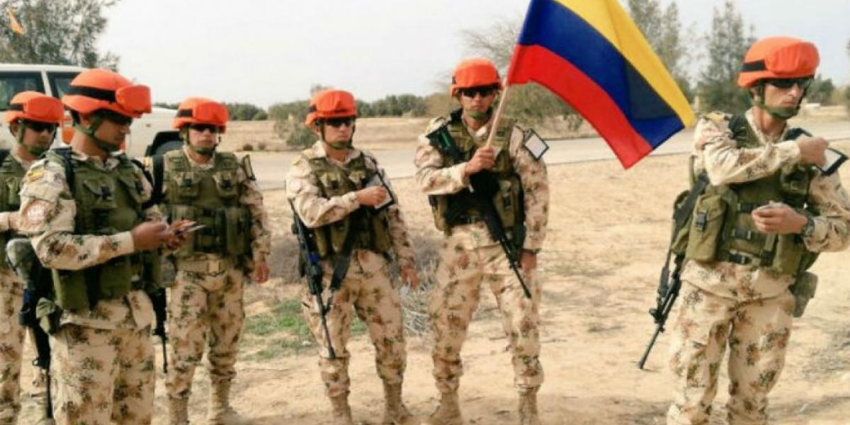 Batallón Colombia en el Sinaí