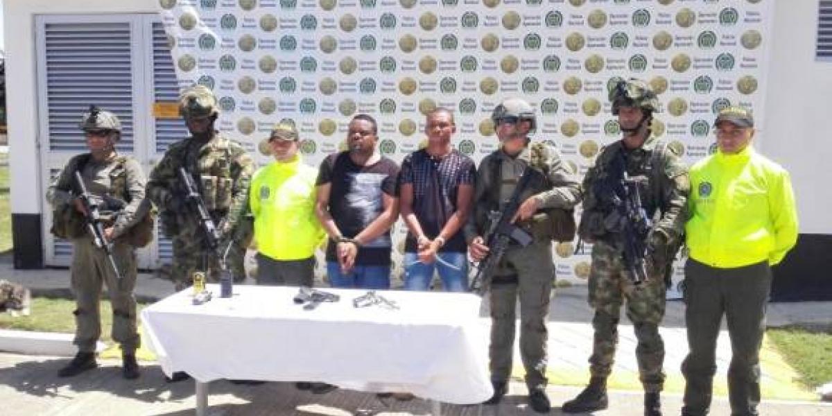 """El operativo para capturar a Dayron Plata Julio, alias  """"Balotelli"""" fue liderado por la Dijín de la Policía."""