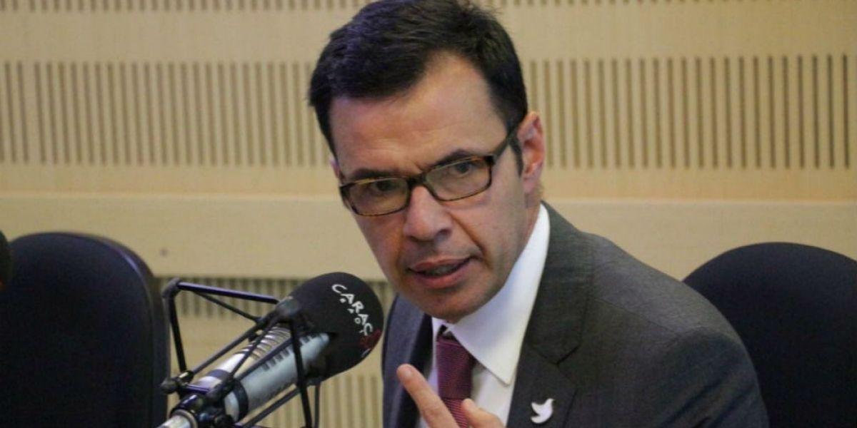 Guillermo Rivera, ministro del Interior