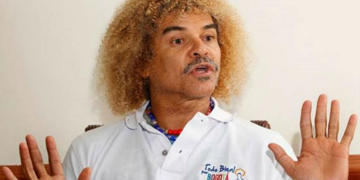 Carlos 'El Pibe' Valderrama.