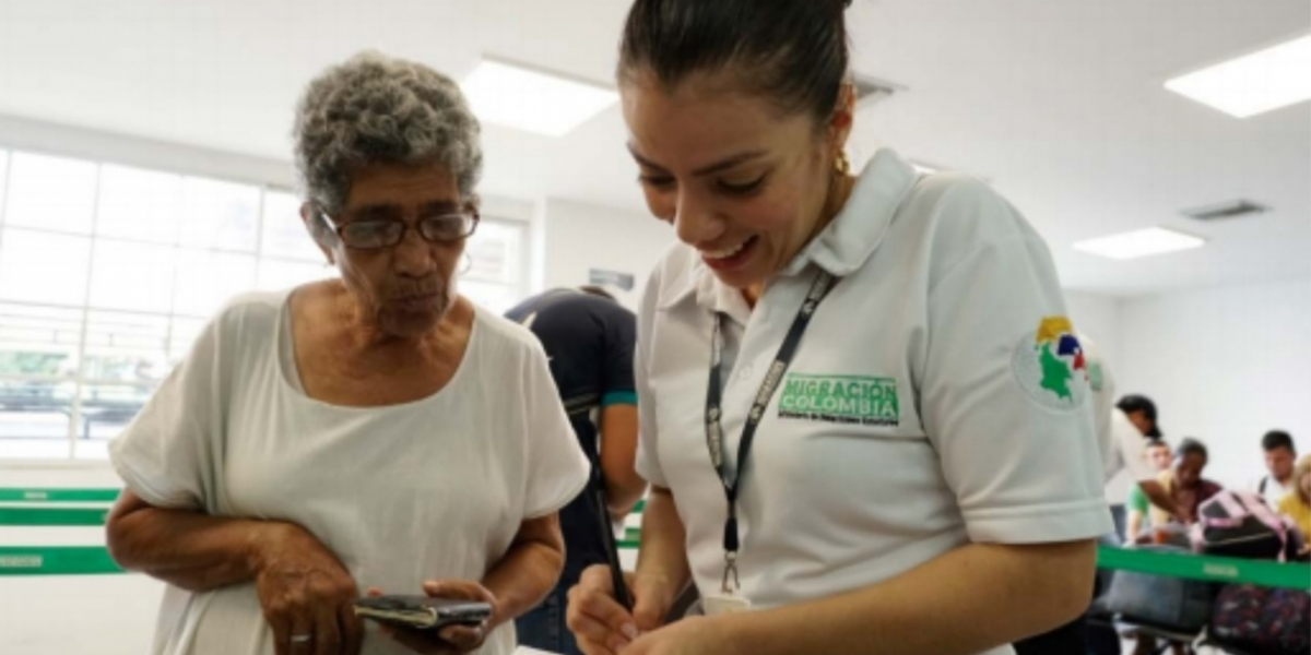 La mayoría de ciudadanos venezolanos llega a visitar a familiares o a comprar víveres.