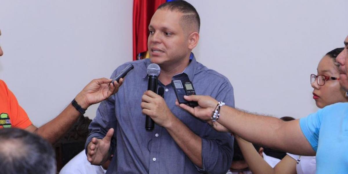 Alcalde de Ciénaga, Edgardo Pérez Díaz.