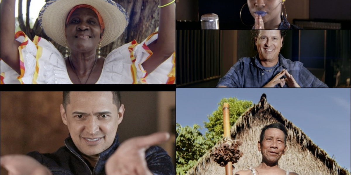 Cantantes colombianos interpretarán canción al Papa