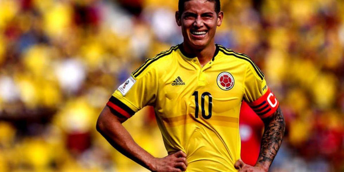James Rodríguez, volante de la selección