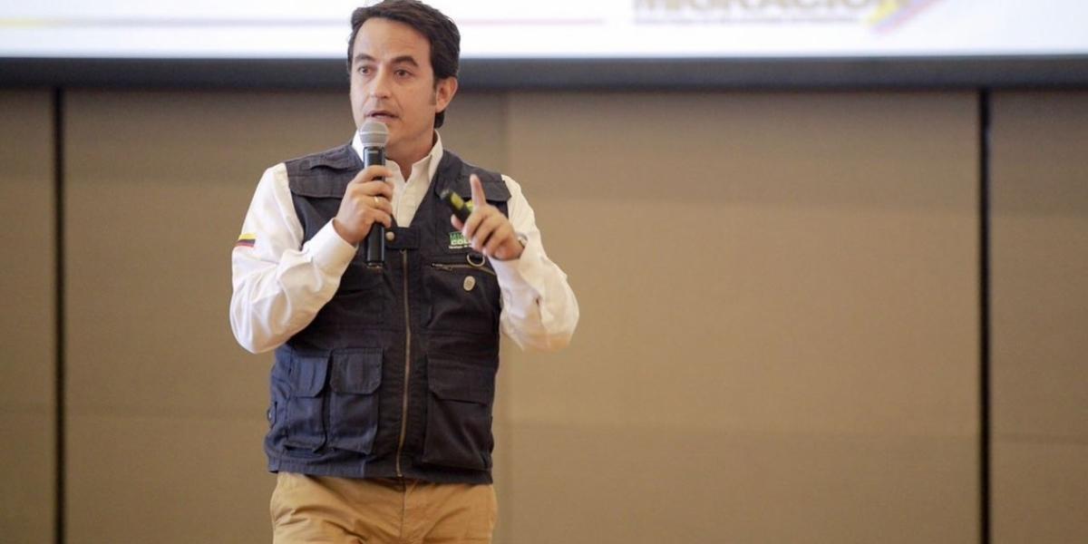 Christian Krüger Sarmiento, director de Migración Colombia.