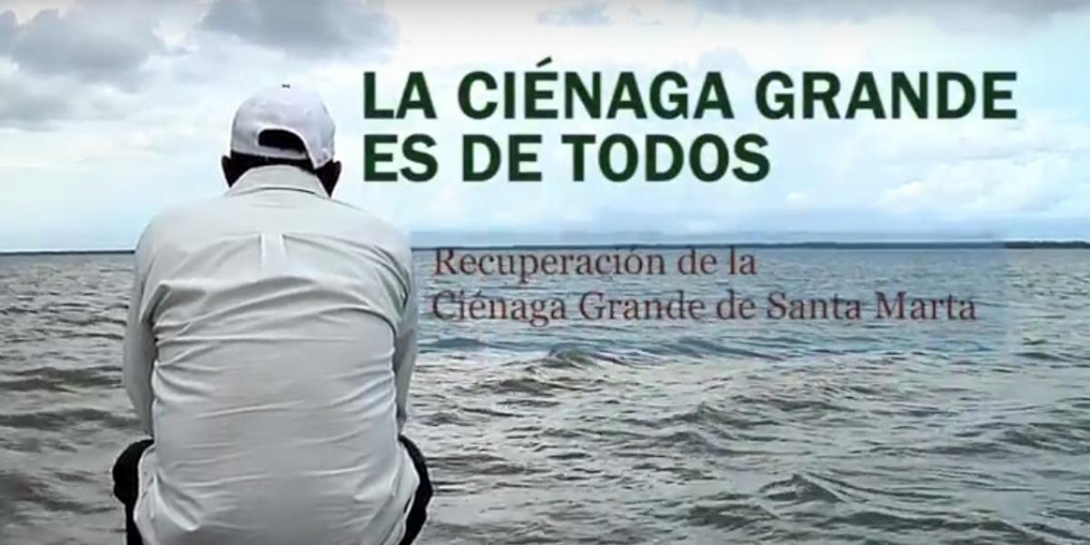 El video busca crear conciencia sobre la Ciénaga Grande de Santa Marta.