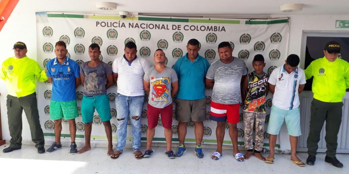 Integrantes de la banda 'Los Chachos'