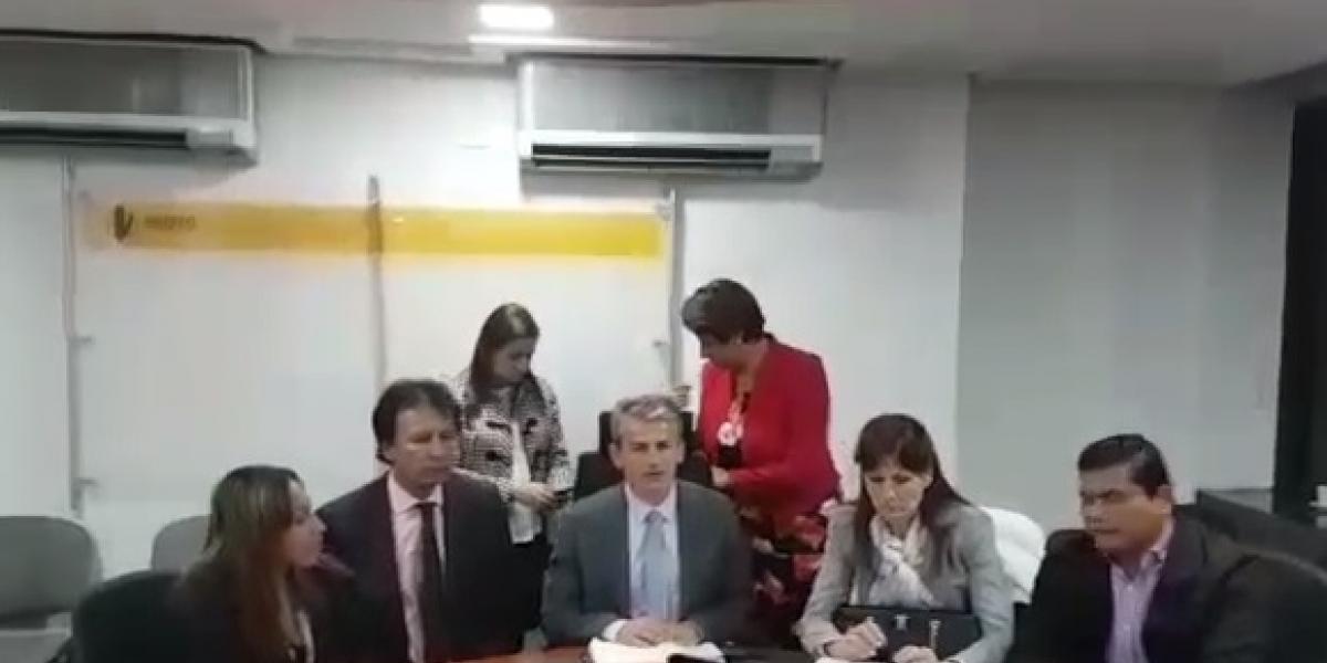 Declaración de prensa tras llegar a acuerdos para la materialización de la vía de la Prosperidad.