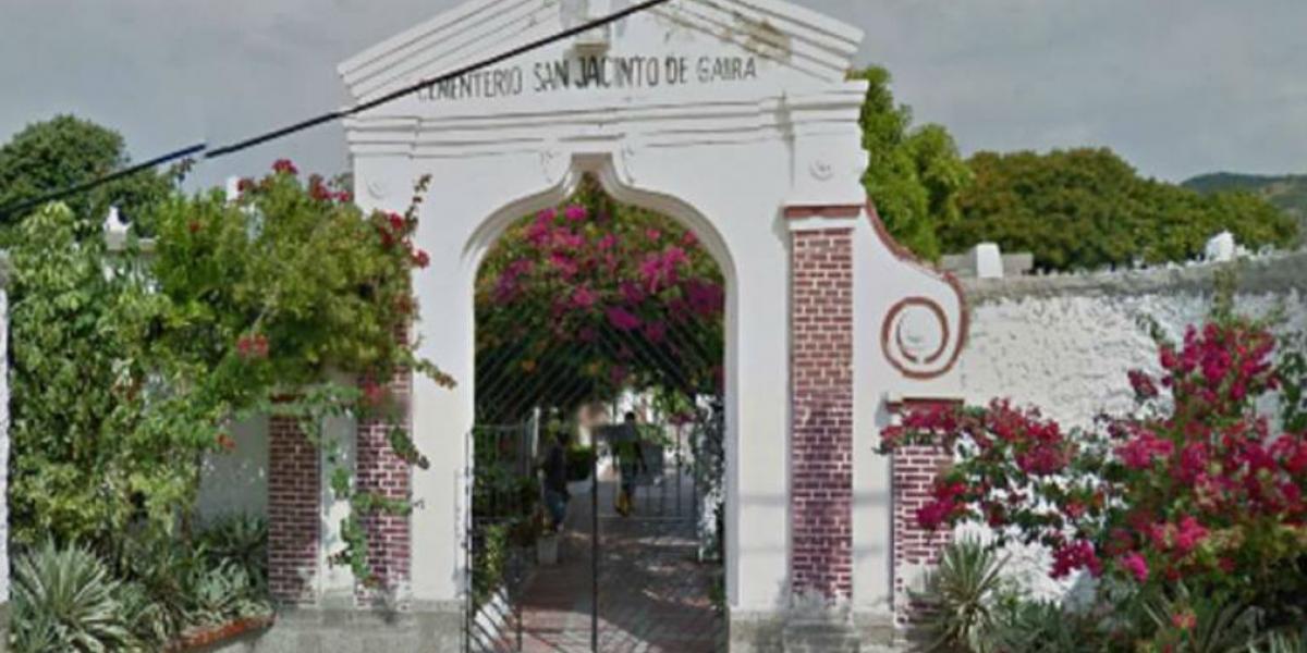 La tumba fue profanada en el Cementerio San Jacinto de Gaira.