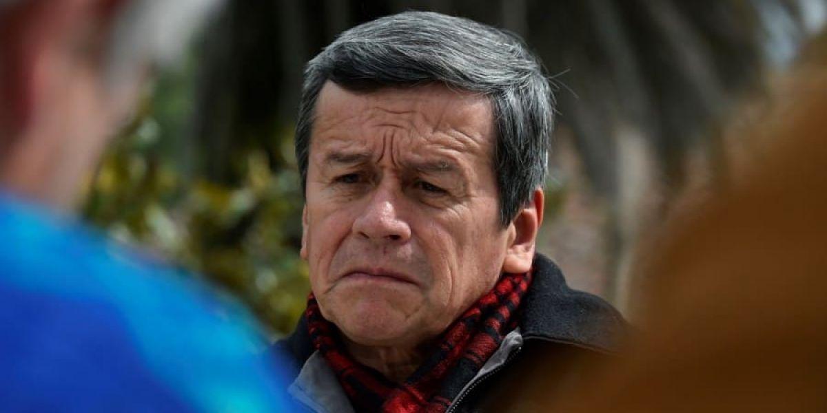 Pablo Beltrán, jefe negociador del Eln