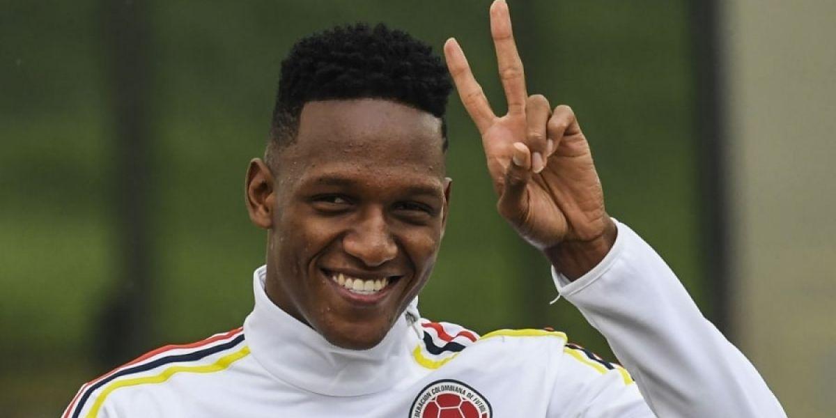 Yerry Mina, defensor colombiano.