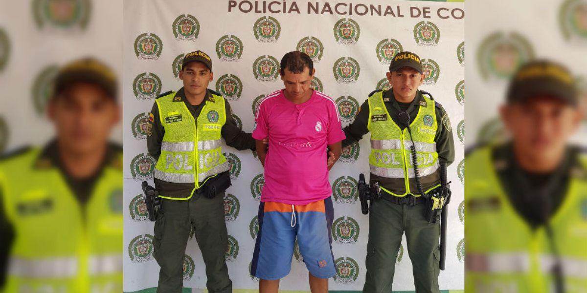 Presunto abusador sexual, capturado en Ciénaga.