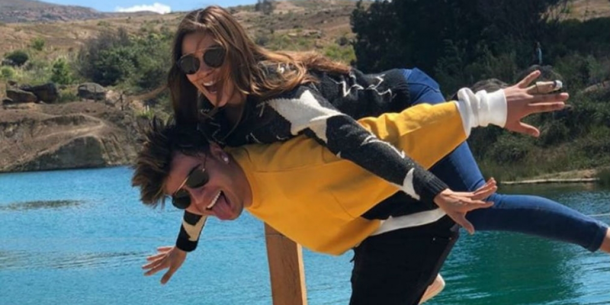 María Laura y Sebastián  Villalobos