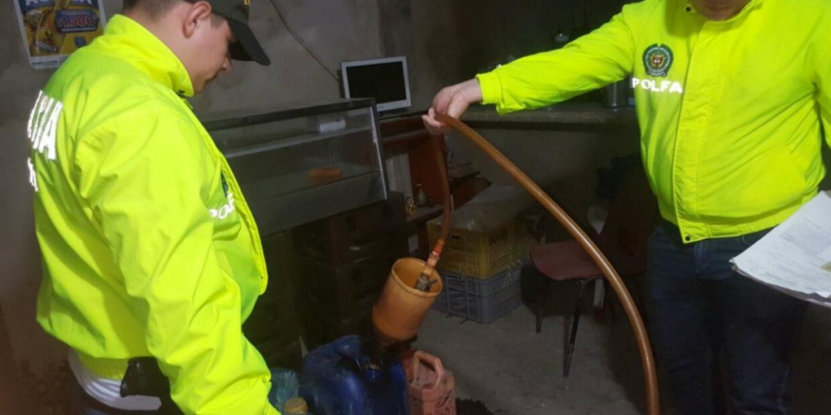 En el barrio Las Malvinas fue allanada la vivienda de Martínez