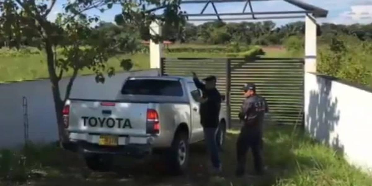 Operativo realizado contra disidencias de las Farc.